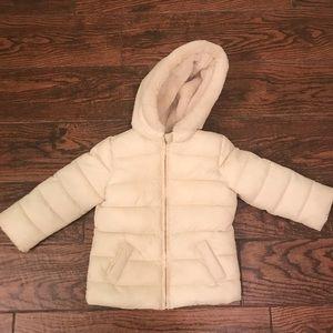 Gymboree toddler girl puffer jacket